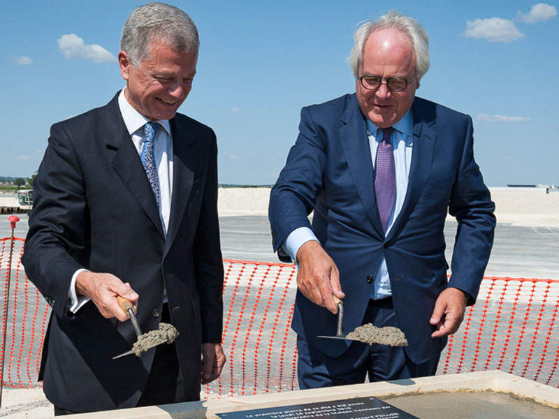 CBO Atlantico, the first in a series of six PSVs being built by Aliança Shipyard, was launched in April 2011. Image courtesy of Ulstein Group.