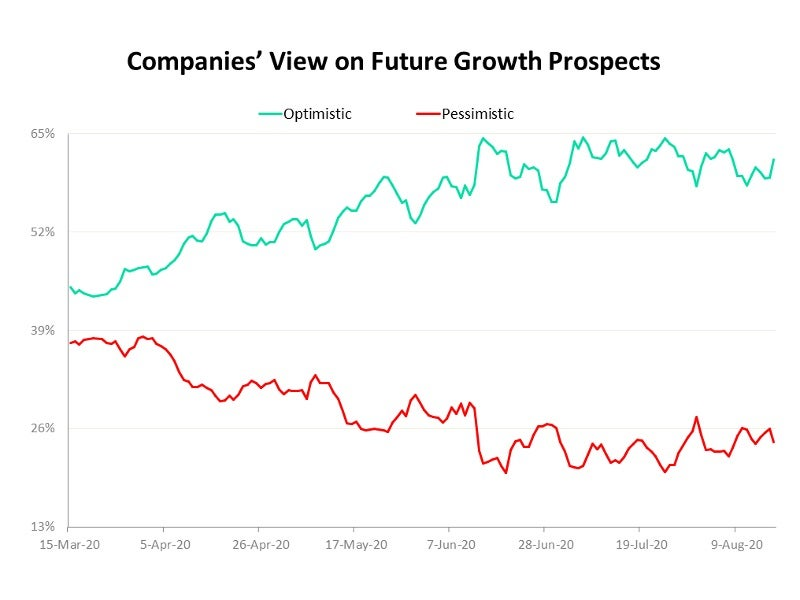 Business sentiment-View on future growth prospects