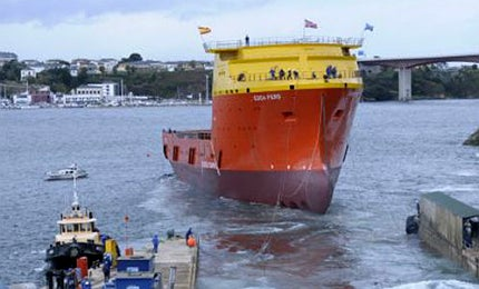 The vessel, when delivered, will be the most environmentally-friendly PSV in the world