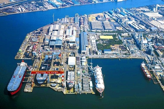 Japan Ship Building Yard