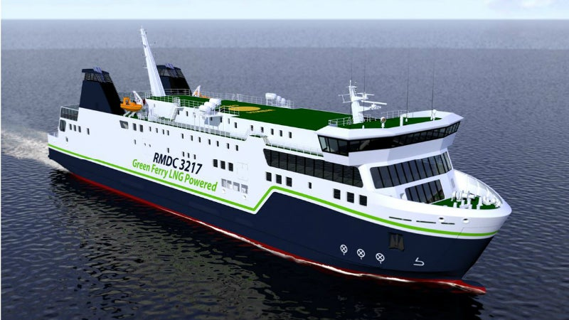 LNG powered ship