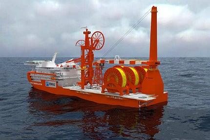 Lewek Constellation will feature a Huisman offshore mast crane