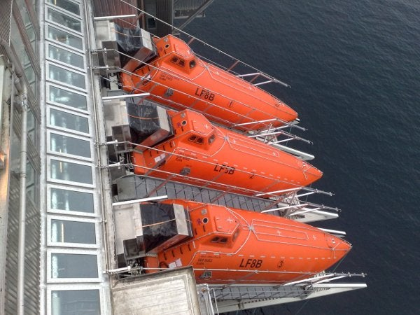 Norsafe large free fall lifeboats