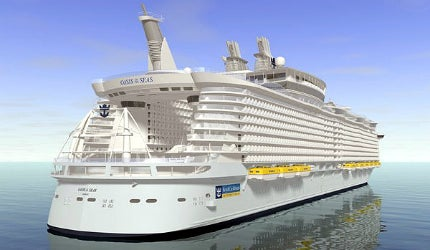 Oasis Class luxury cruise ship