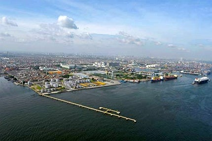 Indonesian port project