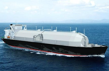 Sayaendo is a new class of liquefied natural gas (LNG) carriers