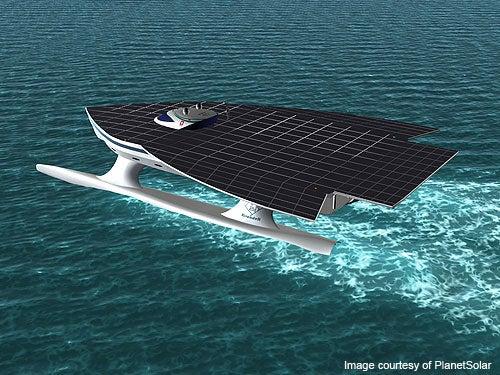 PlanetSolar, Solar-Powered Ship