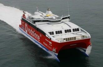 CBG Systems fire protection of Fincantieri vessel