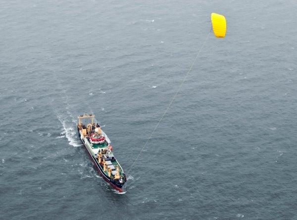 SkySails: bringing wind back to ship propulsion