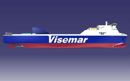 Visemar's Ro-Ro vessel