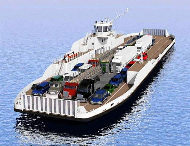 Voith- Canadian double-ended ferry