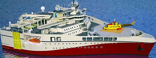 Kongsberg-PGS titan-class vessels