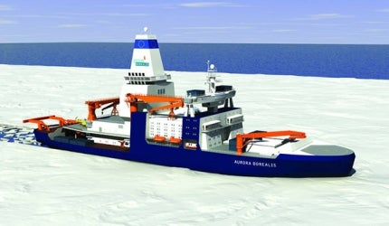 Aurora Borealis Polar Research Vessel