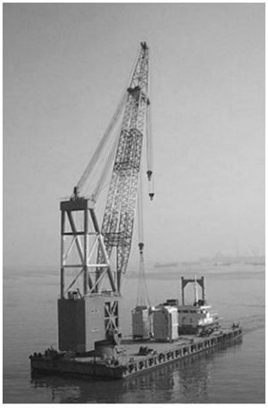 Special Steel Wire Ropes for Floating Cranes
