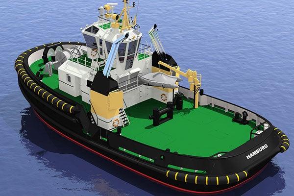 Damen shipyards ASD TUG 2913