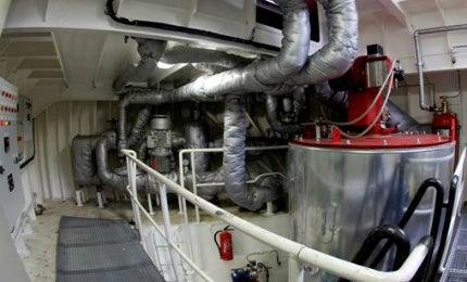 Heatmaster ship boiler system
