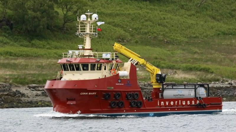 Inverlussa Marine Services Receives Aquaculture Support Vessel