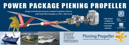 Piening Propeller power package