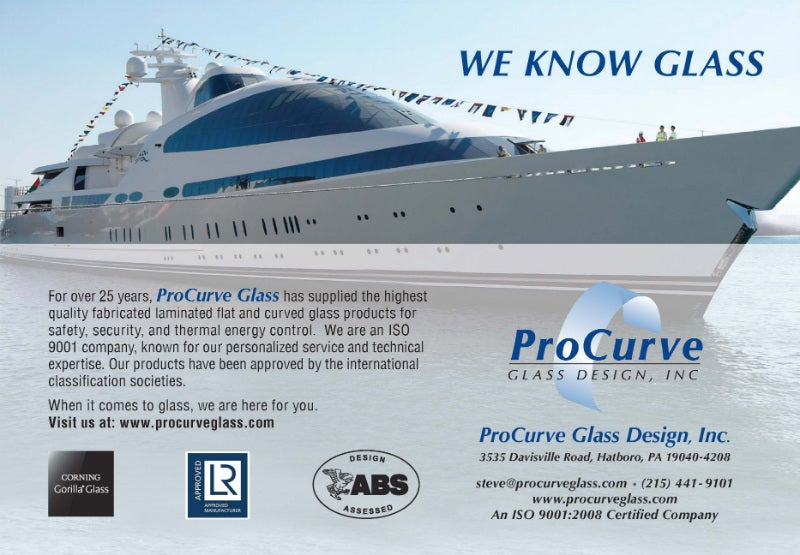 Procurve glass design