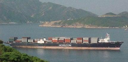 Horizon Spirit container ship