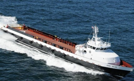 John Jacob crew supply vessel