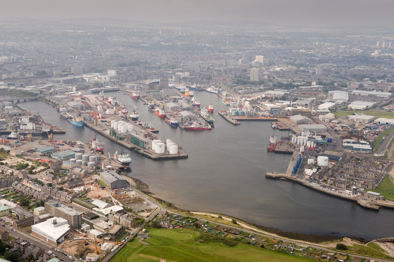 Aberdeen Harbour port