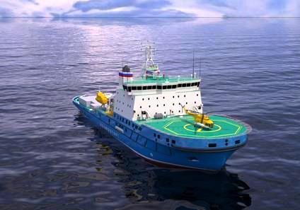 Arctech icebreaker