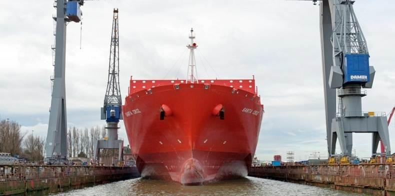 Damen- vessels with Becker Twisted Fins