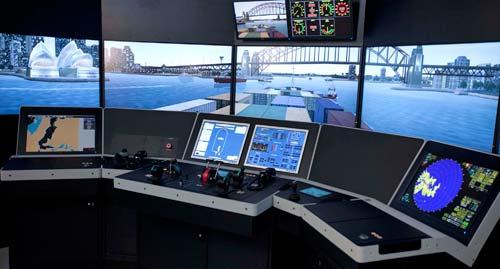 Kongsberg Maritime simulator
