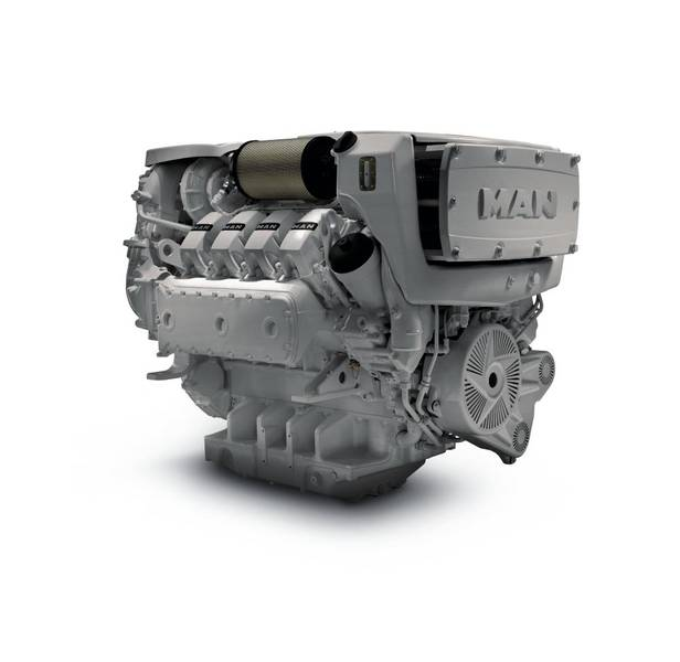 MAN D2868 engine