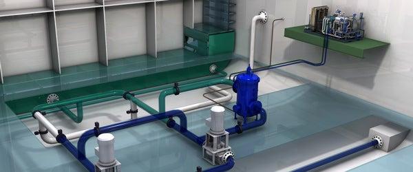 Ocean Saver Mark II ballast water system