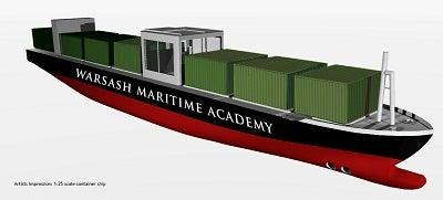 Warsash model vessel