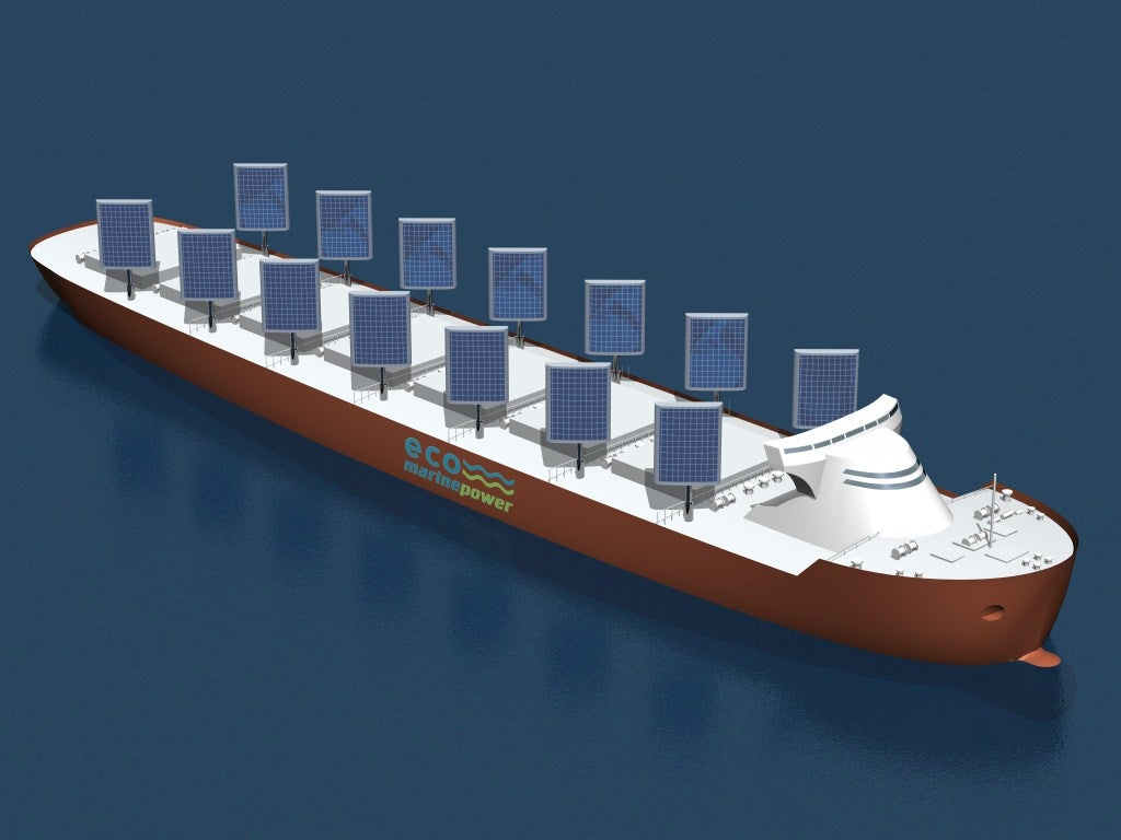 Eco Marine Power's Aquarius Eco Ship Concept