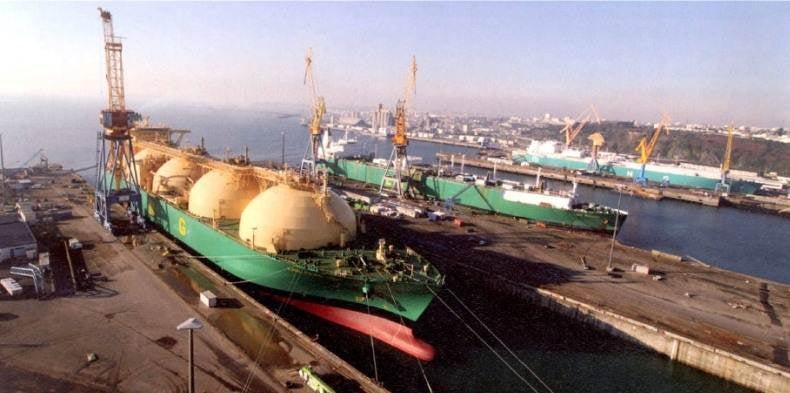 Damen, Sobrena Shiprepair Brest