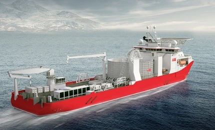 ABB's 140m Advanced Cable Laying Vessel.