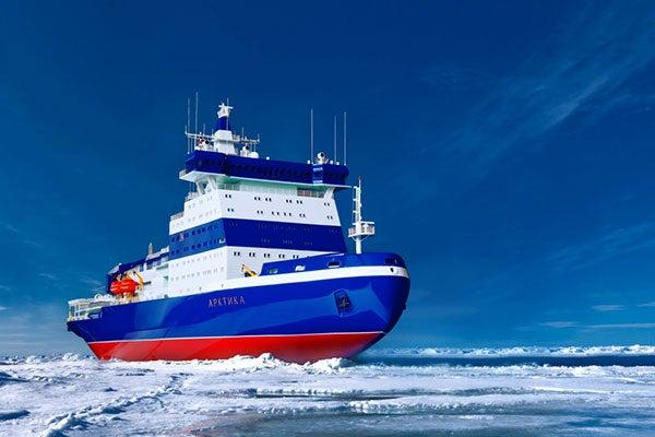 Arctic Project 22220 LK-60 Icebreaker