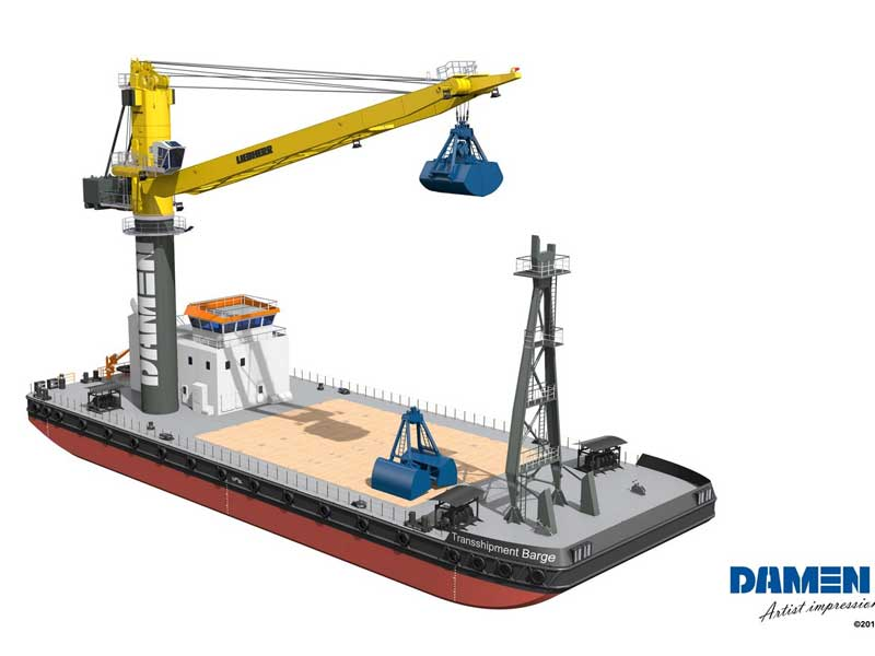 Damen Crane Barge 6324