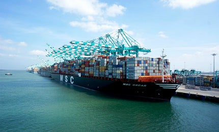 MSC Oscar Container Ship