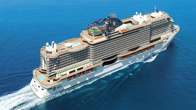 Msc Seaview Cruise Ship Ship Technology