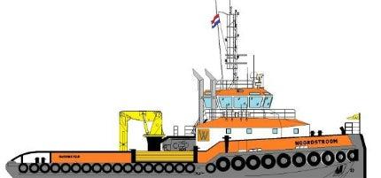 Noordstroom is the first vessel based on the design of Damen Shoalbuster 3512