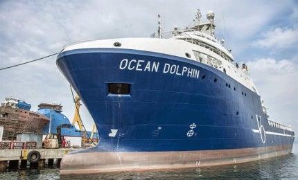 Ocean Dolphin seismic support vessel (SSV)