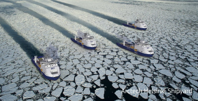 icebreaking vessels