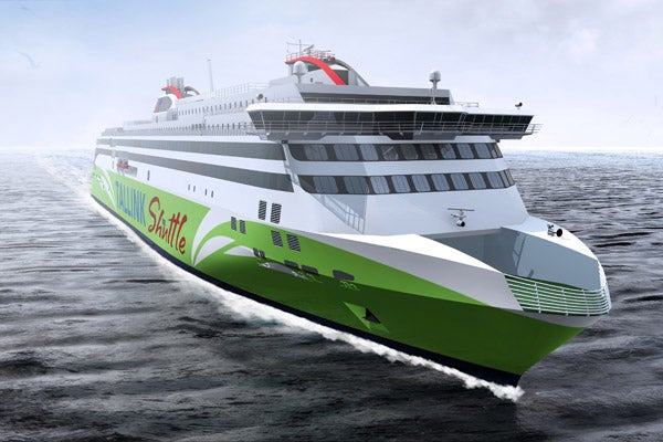 Tallink LNG-fuelled fast ferry