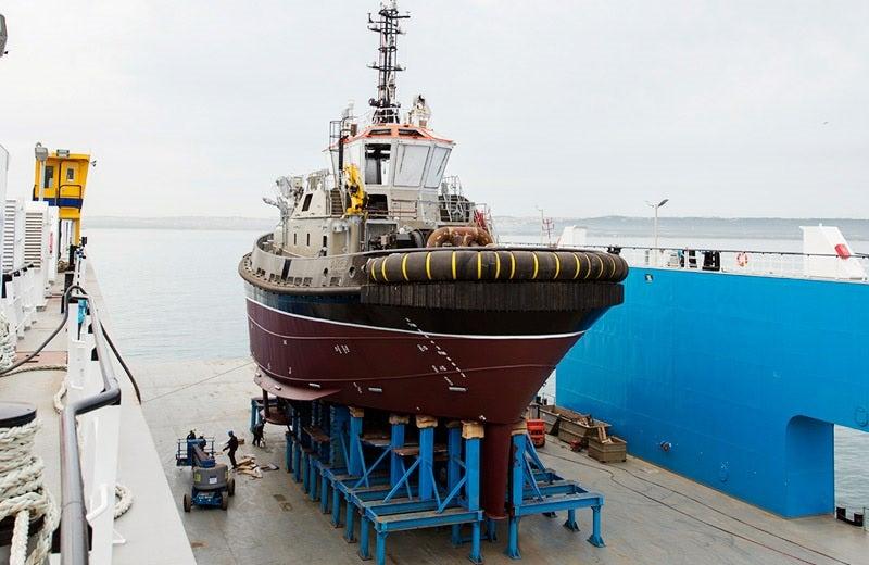 VectRA in shipyard