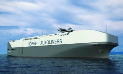 Höegh Autoliners ordered for the Horizon Pure Car and Truck Carrier from Xiamen Shipbuilding Industry in January 2013.
