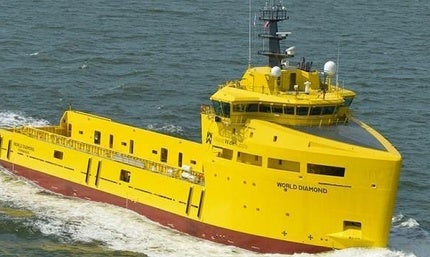 World Diamond platform supply vessel